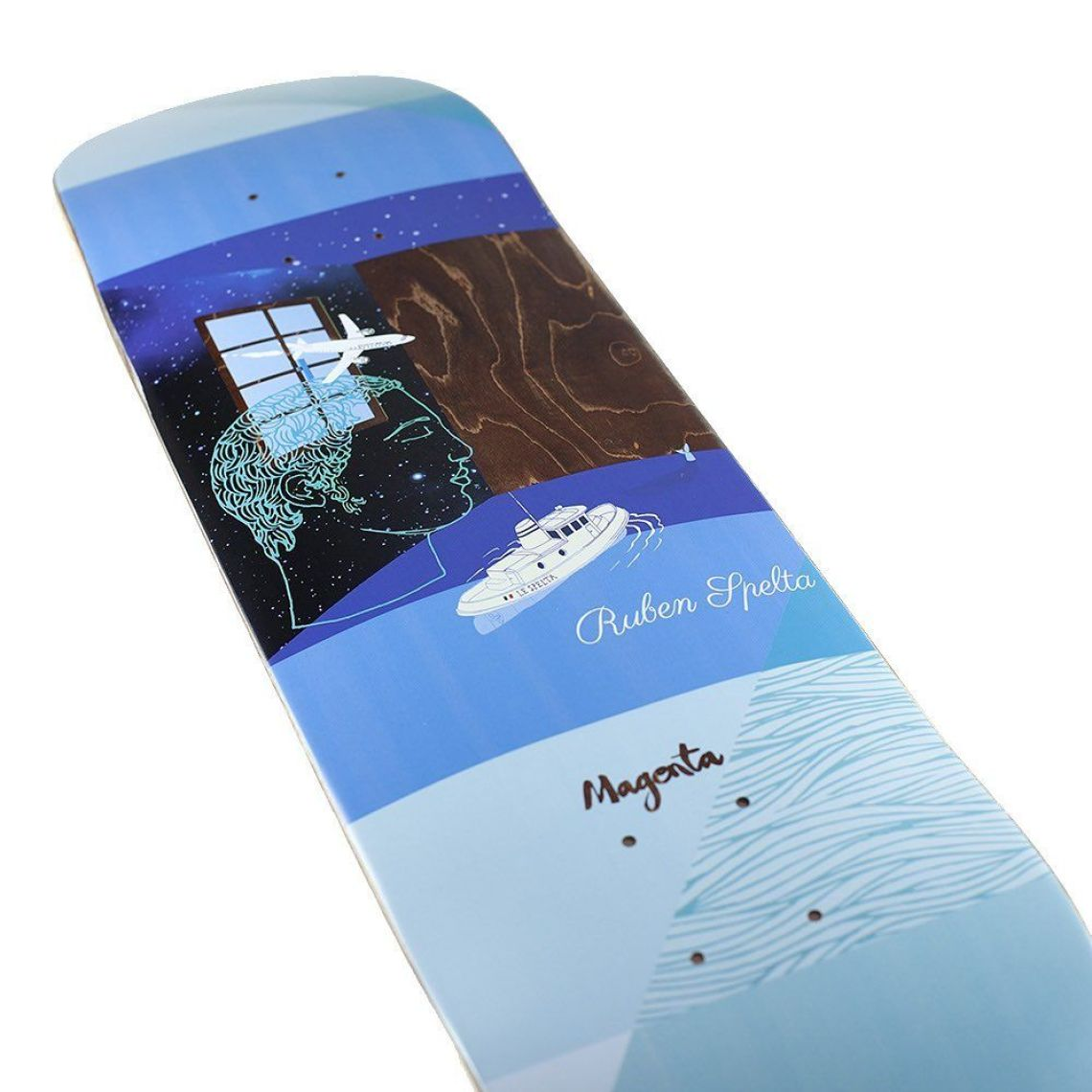 Sleep Board Series By Soy Panday For Magenta Skateboards 6