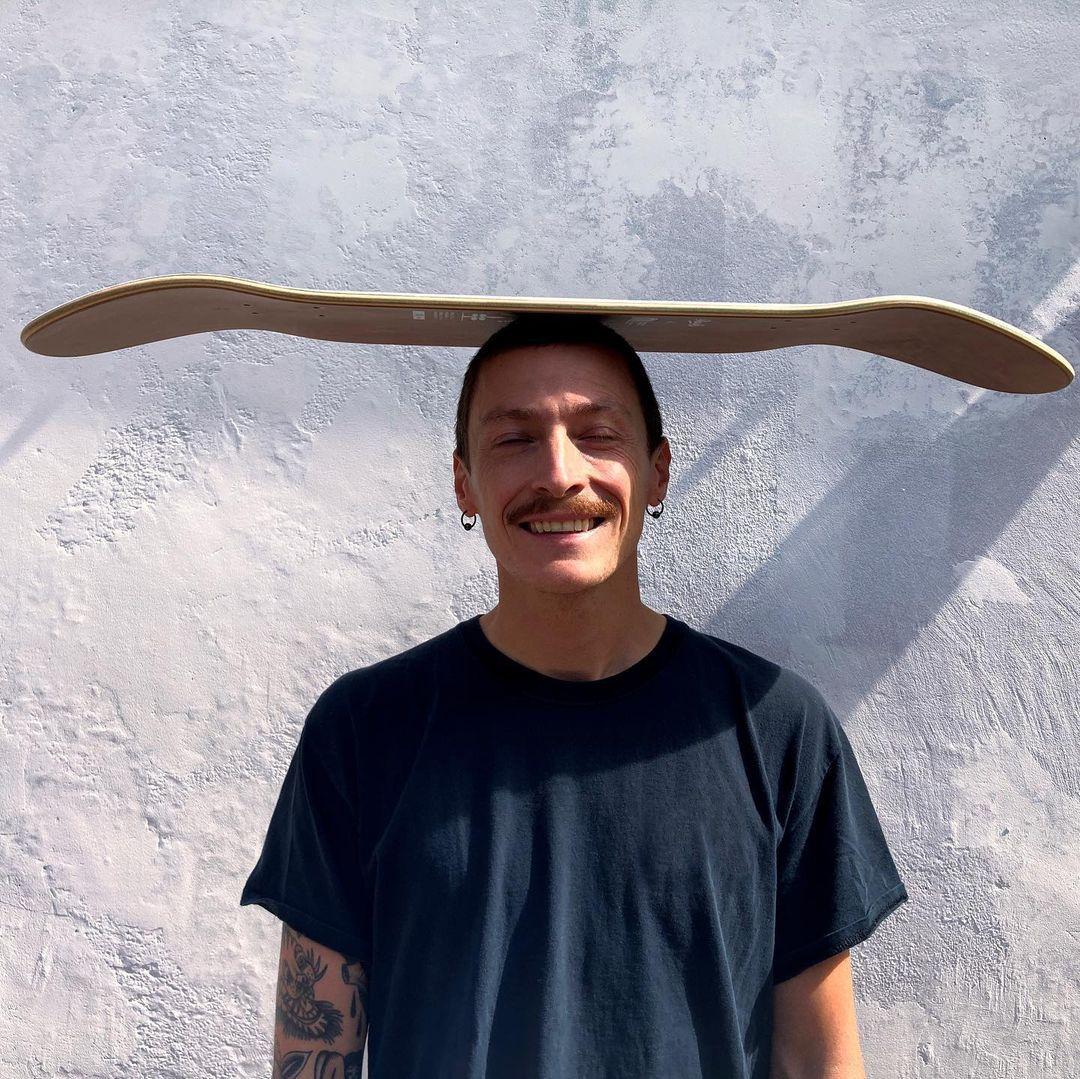 Tommy Knuts X Chalk Custom Board X Decathlon Skateboarding 6