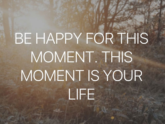 From This Moment. . .