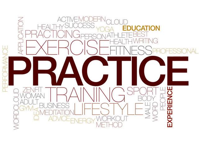 Practice Equals. . .