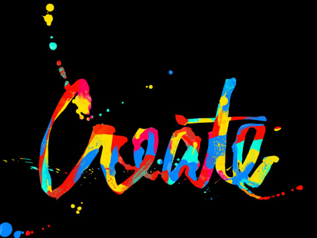 Create. . .