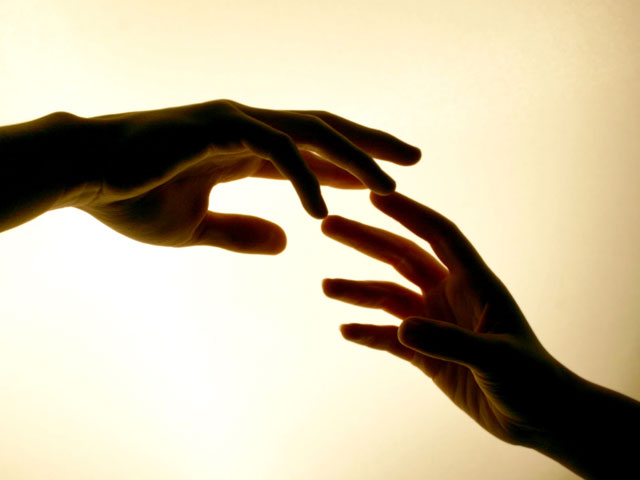 Hand in Hand. . .