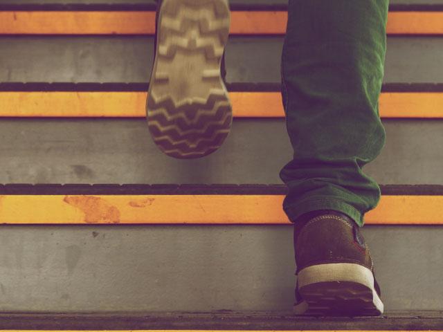 Steps. . .