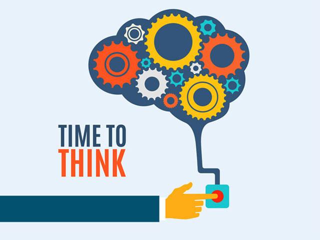 Think. . .
