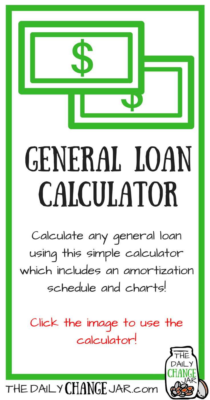 Are youin need of a loan? Calculate any general loan using this simple calculator which includes an amortization schedule and charts! Click the image, enter your predicted amounts and out pops a payment scheudle! 401k | betterment | budget | debt | fidelity | financial independence | index funds | investing | ira | mortgage | personal capital | personal finance | real estate investing | retirement | roth ira | saving | side hustle | stock investing | student loans | vanguard | wealthfront | jobs | career | credit | bankruptcy