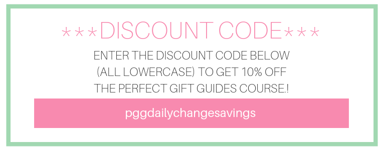 A totally honest perfect gift guides course review discount a totally honest review of the perfect gift guides course plus your sweet discount code fandeluxe Images