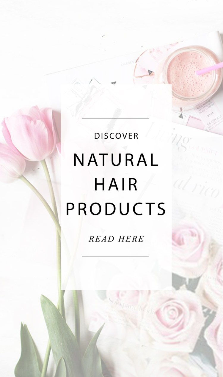 Natural hair products
