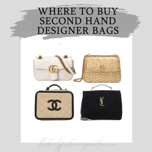where to buy second hand designer bags