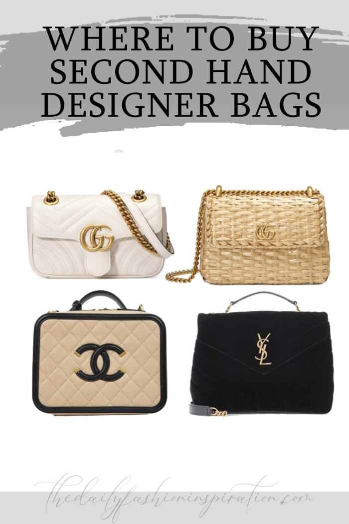 BEST & WORST WHERE TO BUY SECOND HAND DESIGNER BAGS (2020)