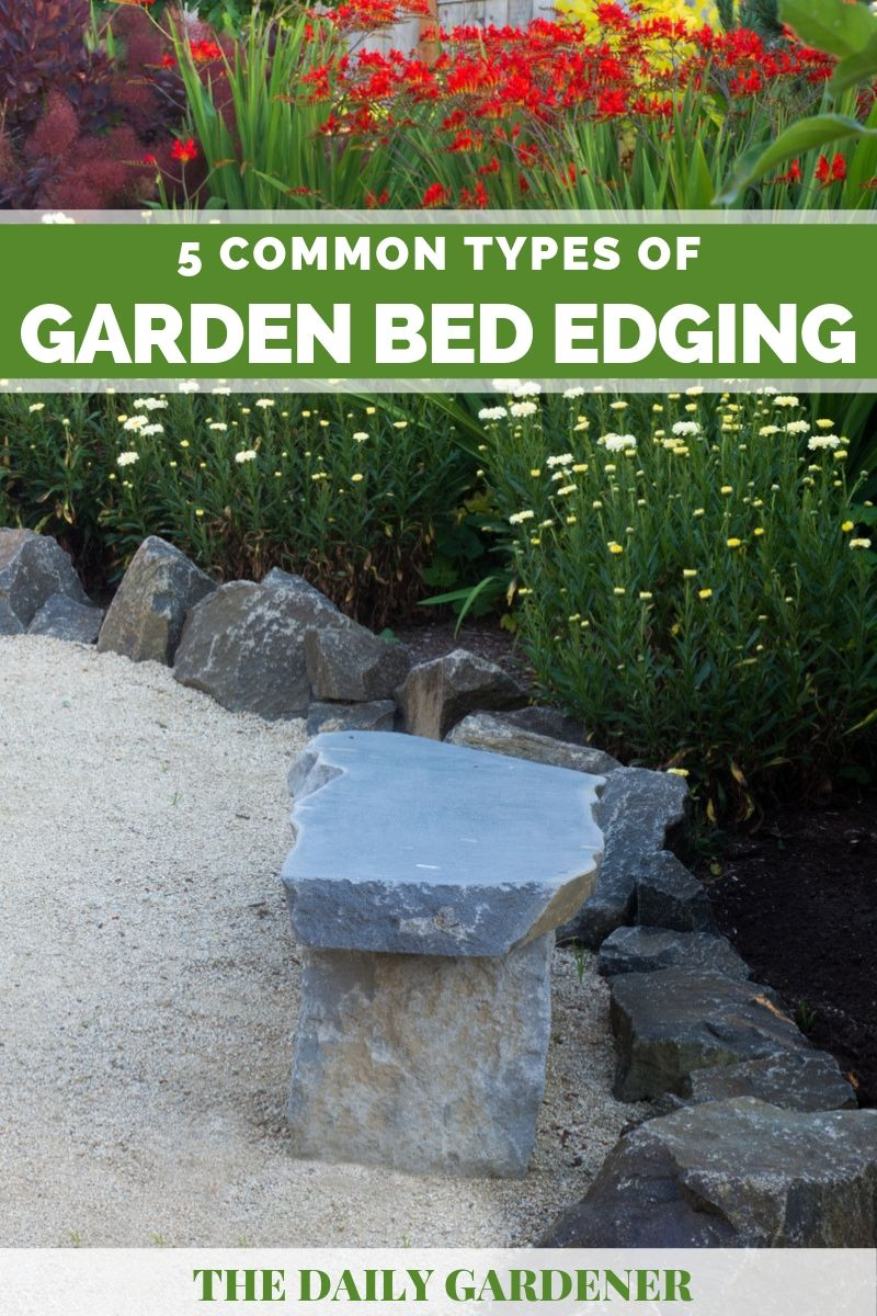 5 Common Types Of Garden Bed Edging