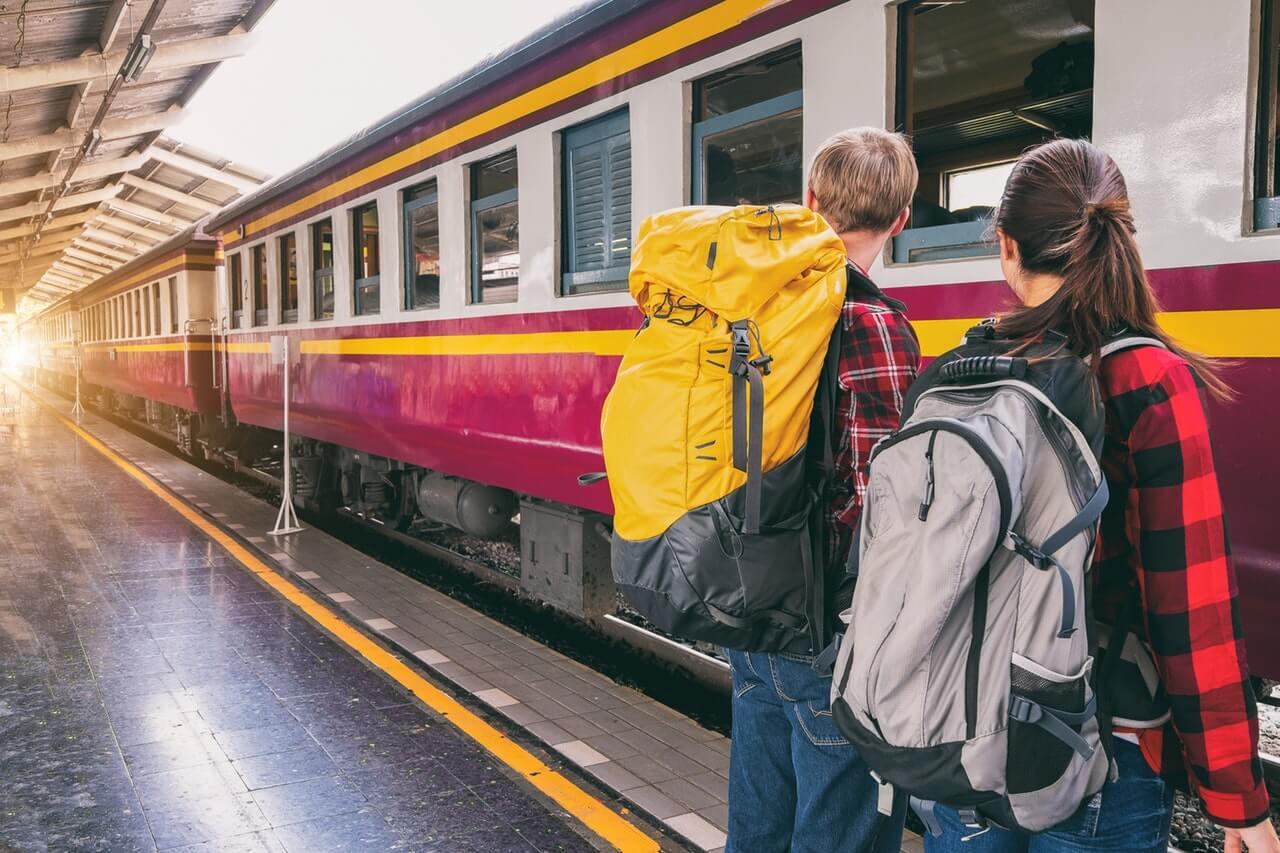 stedentrip met de trein