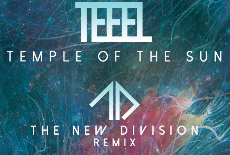 """[Premiere] Teeel - """"Temple Of The Sun"""" (The New Division Remix)"""