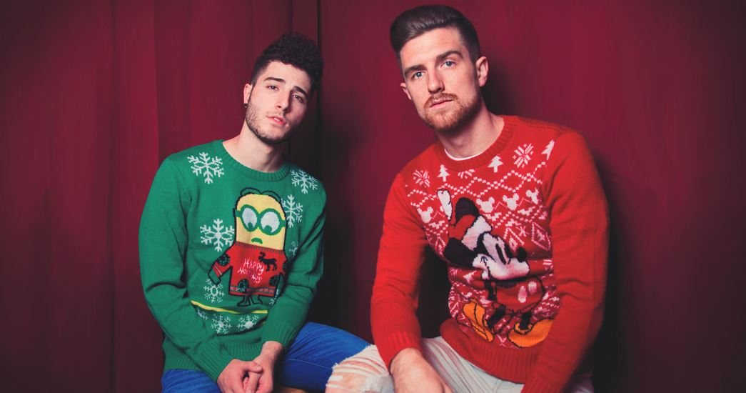 "[PREMIERE] Fly By Midnight - ""Wonderful Christmastime"""