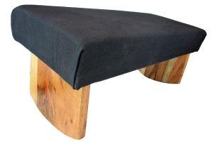 acacia wooden meditation bench