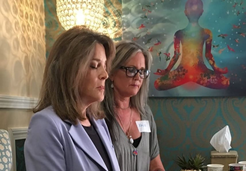Marianne Williamson Presidential Campaign Brings Meditation, Yoga To Whitehouse