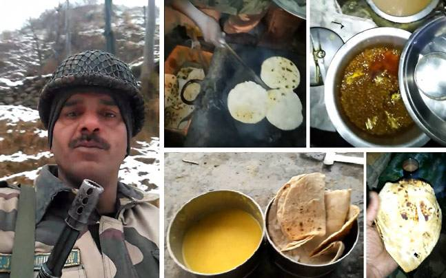 indian bsf soldeir video gone viral