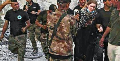 german girl found in iraq linda w