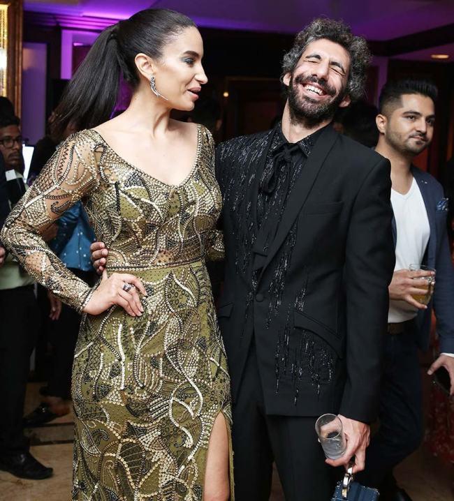 Elena Fernandez Jim Sarbh GQ Style Awards 2018