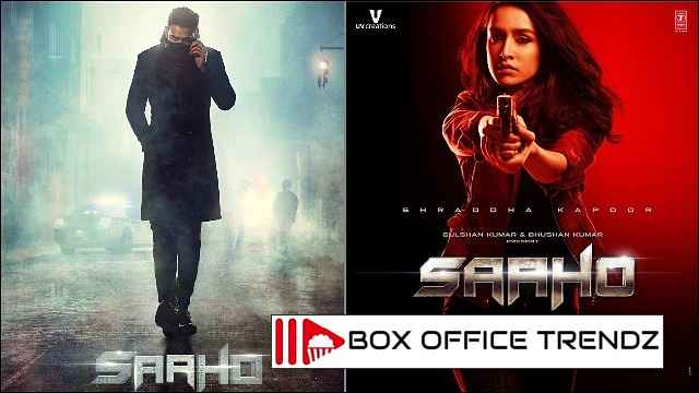 saaho box office 1st day collection