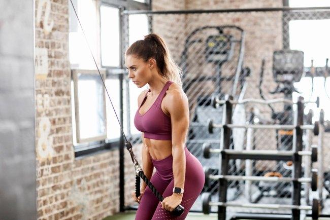 workout plan triceps women