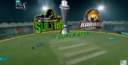 Karachi Kings Multan Sultans Super Over