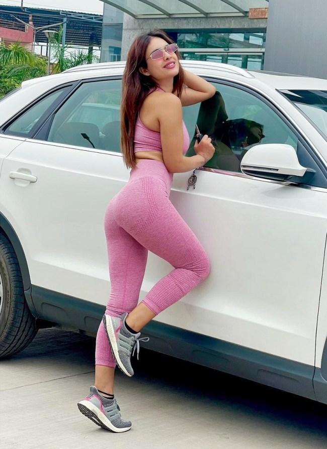 Neha Malik Gym Workout