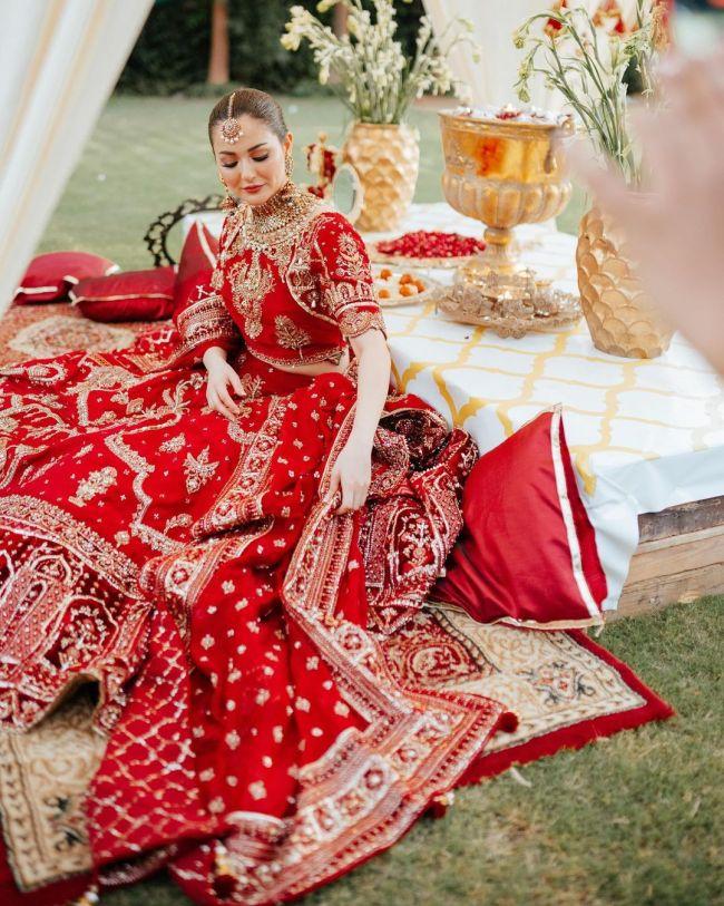 Hania Aamir Bridal Photoshoot