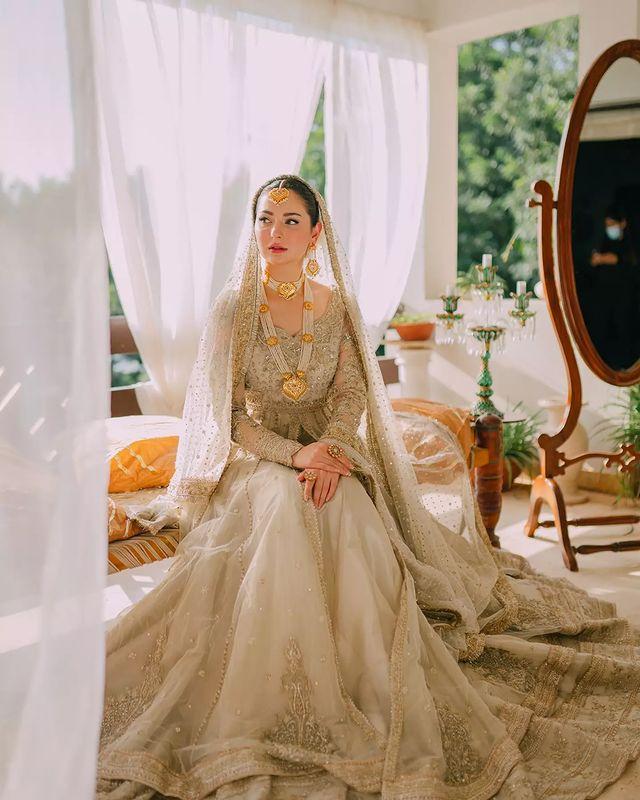 Hania Amir Beautiful Bride