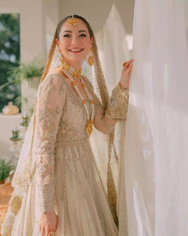 Hania Amir Bridal Look