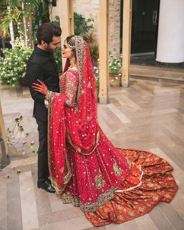 Minal Ahsan Mohsin Bridal Photoshoot