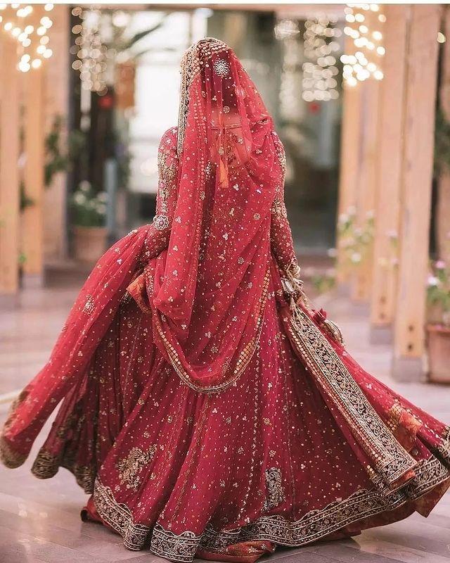 Minal Khan Bridal Dress
