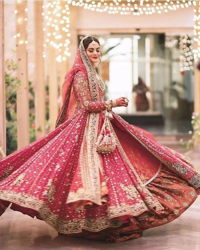 Minal Khan Bridal Picture