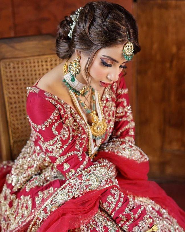Saboor Aly Bridal-Photoshoot