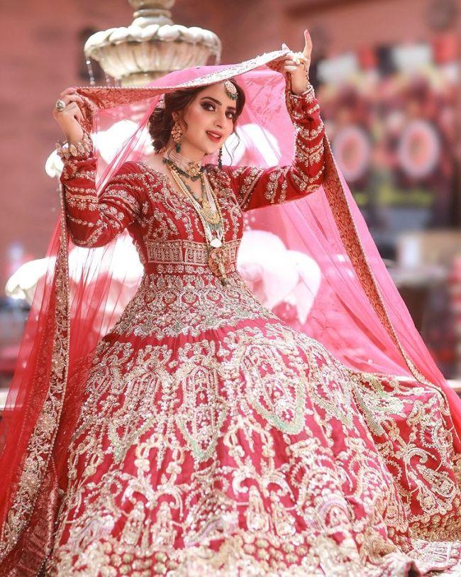 Saboor Aly Bridal Photoshoot