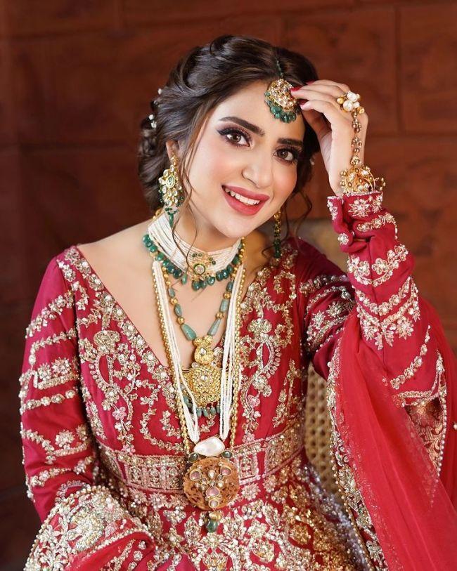 Saboor Aly Pakistani Bride