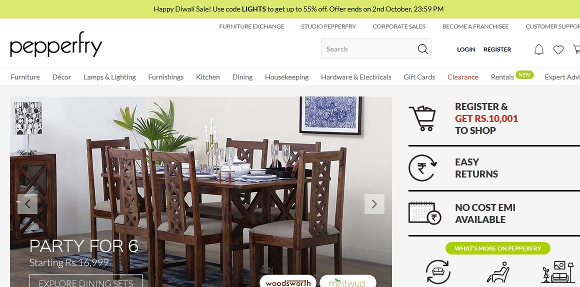 Sites Online Best Furniture Shopping