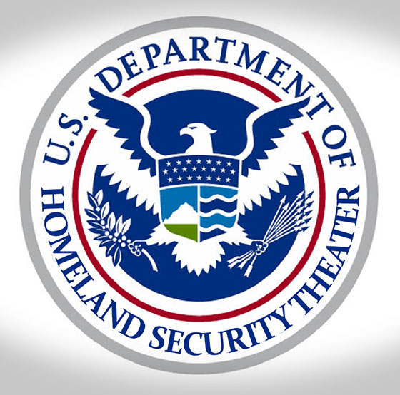 dhs homeland security theater