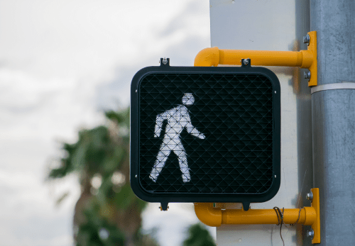 crosswalk light