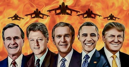 presidents who bombed Iraq