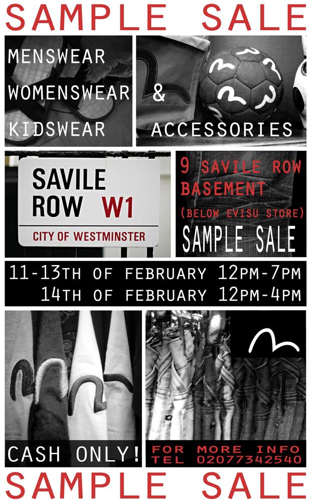 Sample Sale ready