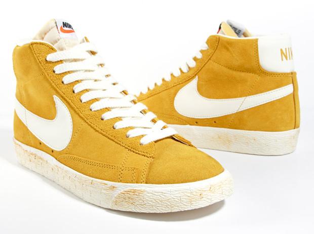 separation shoes bec64 79840 Nike Blazer Hi Vintage Suede QS (Gold/Sail)
