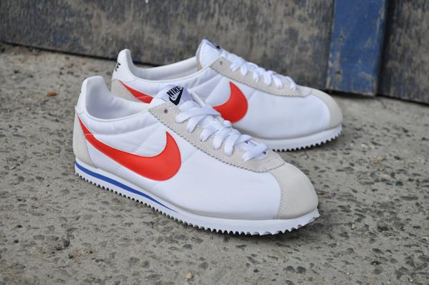 online retailer 8d6f4 0c91e Nike Cortez Nylon (White/Red/Blue)