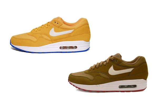 Nike Air Max 1 (HoneycombBlue Spark & Brown KelpWhite)