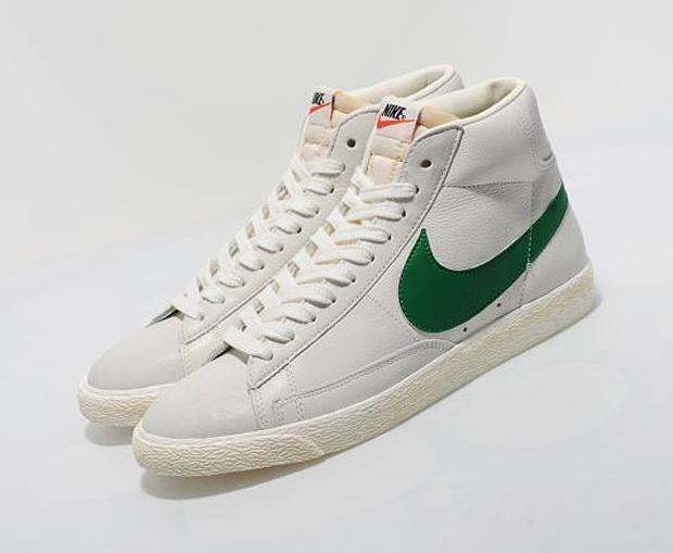 Astronave más y más Perímetro  Nike Blazer High Vintage (White/Green)