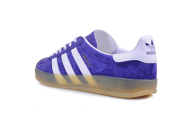 templar Cuaderno Fontanero  Adidas Gazelle Indoor (Purple, Grey & Red)