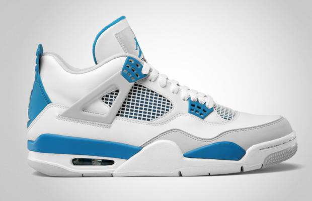 online store af0ef 79ea5 Air Jordan IV  Military Blue  Retro 2012