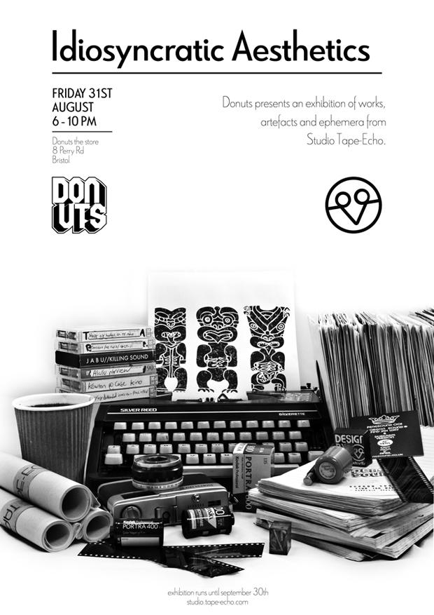 Studio-Tape-Echo-Idiosyncratic-Aesthetics-poster-1