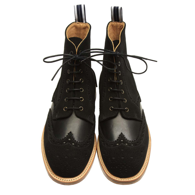 Oliver-Spencer-AW12-Brogue-Boot-Black-02