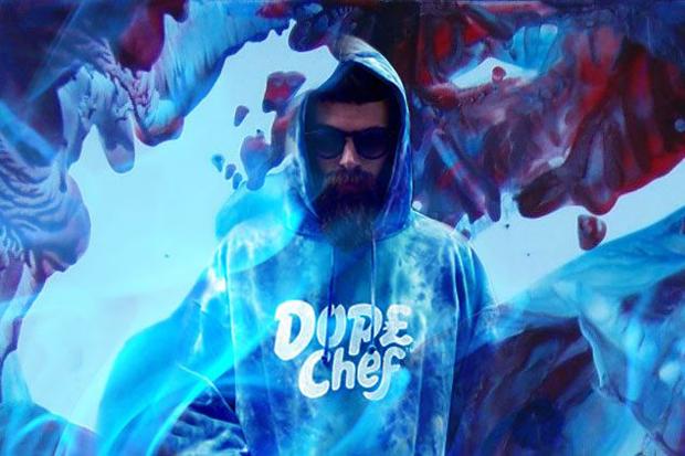 Dope Chef Blue Magic Hoodie 01