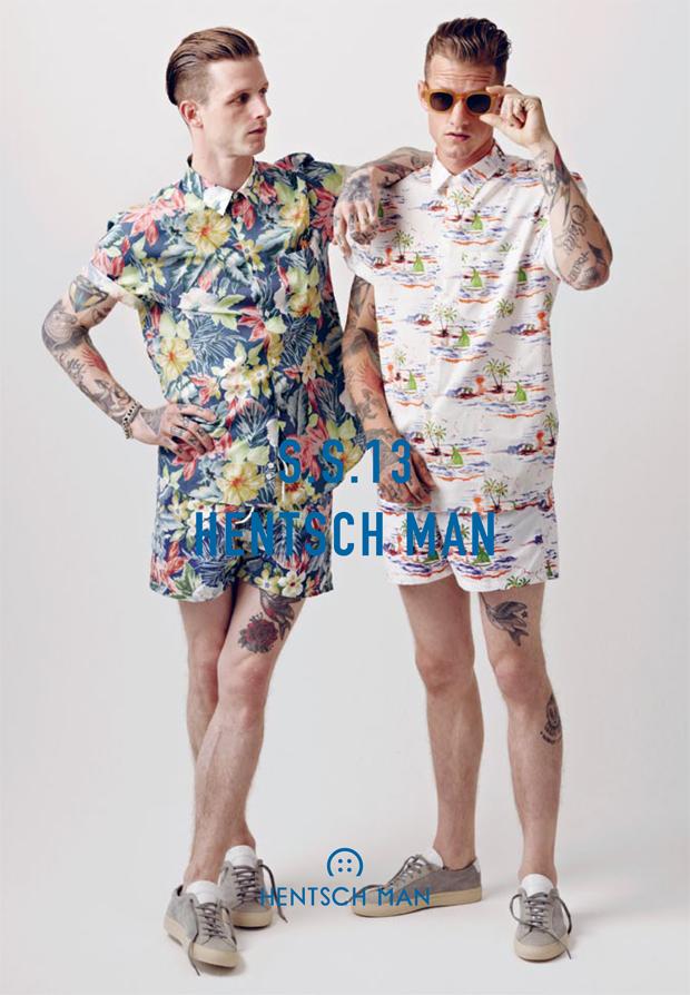 Hentsch Man Spring Summer 2013 Lookbook 01